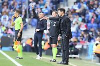 1st March 2020; RCDE Stadium, Barcelona, Catalonia, Spain; La Liga Football, Real Club Deportiu Espanyol de Barcelona versus Futbol Club Atletico Madrid; Simeone, manager of Atletico