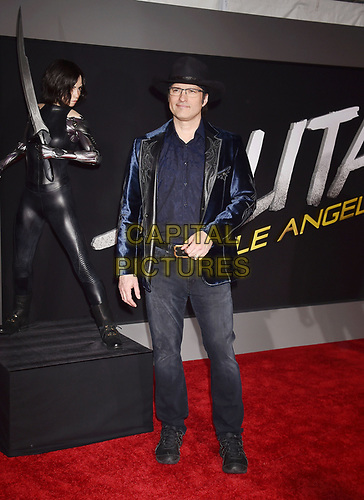 WESTWOOD, CA - FEBRUARY 05: Robert Rodriguez attends the Premiere Of 20th Century Fox's 'Alita: Battle Angel' at Westwood Regency Theater on February 05, 2019 in Los Angeles, California.<br /> CAP/ROT/TM<br /> ©TM/ROT/Capital Pictures