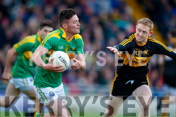 Colm Cooper Dr Crokes in action against Oran Clifford South Kerry in the Senior County Football Final in Austin Stack Park on Sunday