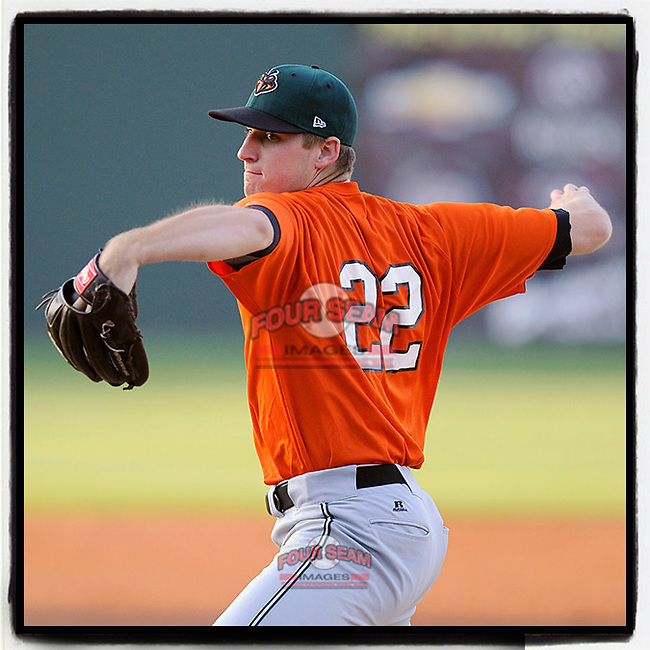 #OTD On This Day, May 9, 2013, pitcher Chris Stratton (22) of the Augusta GreenJackets struck out six in a game against the Greenville Drive at Fluor Field at the West End in Greenville, South Carolina. Stratton was a first-round pick by the San Francisco Giants in the 2012 First-Year Player Draft. He is a veteran Major Leaguer now with Pittsburgh. (Tom Priddy/Four Seam Images) #MiLB #OnThisDay #MissingBaseball #nobaseball #stayathome #minorleagues #minorleaguebaseball #Baseball #SallyLeague #AloneTogether