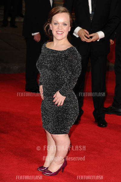 Ellie Simmonds arriving for the Royal World Premiere of 'Skyfall' at Royal Albert Hall, London. 23/10/2012 Picture by: Steve Vas / Featureflash