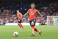 Luton Town defender Dan Potts in action during the Sky Bet League 2 match between Luton Town and Yeovil Town at Kenilworth Road, Luton, England on 13 August 2016. Photo by Liam Smith.