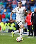 Real Madrid CF's Lucas Vazquez during La Liga match. April 06, 2019. (ALTERPHOTOS/Manu R.B.)