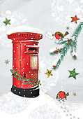 Sharon, CHRISTMAS SYMBOLS, WEIHNACHTEN SYMBOLE, NAVIDAD SÍMBOLOS, GBSS, letterbox, paintings+++++,GBSSC50XCCB,#XX#