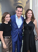 """5 August 2019 - Hollywood, California - Grace James, Brian d'Arcy James, Jennifer Prescott. Premiere Of Warner Bros Pictures' """"The Kitchen"""" held at TCL Chinese Theatre.   <br /> CAP/ADM/FS<br /> ©FS/ADM/Capital Pictures"""