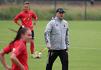 20200605 - TUBIZE , Belgium : Belgian head coach Ives Serneeels pictured during a training session of the Belgian national women's soccer team called the Red Flames during their after Corona – Covid training week, on the 5 th of June 2020 in Tubize.  PHOTO SEVIL OKTEM| SPORTPIX.BE