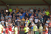 08/08/2015 Sky Bet League 1 Fleetwood Town v Southend United<br /> Southend United fans