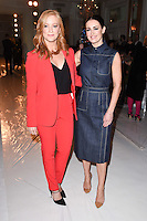 Sarah Jane Mee and Kirsty Gallagher<br /> at the Jasper Conran AW17 show as part of London Fashion Week AW17 at Claridges,London.<br /> <br /> <br /> &copy;Ash Knotek  D3230  17/02/2017