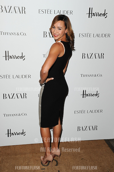 Jessica Ennis arriving for the Harper's Bazaar Women of the Year Awards 2012 at Claridge's Hotel, London. 31/10/2012 Picture by: Steve Vas / Featureflash