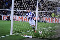 VOETBAL: HEERENVEEN: Abe Lenstra Stadion, 11-04-2015, Eredivisie, sc Heerenveen - AZ Alkmaar, Eindstand: 5-2, Sam Larsson (#11), ©foto Martin de Jong