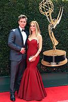 PASADENA - APR 29: Darin Brooks, Kelly Kruger at the 45th Daytime Emmy Awards Gala at the Pasadena Civic Center on April 29, 2018 in Pasadena, California