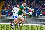 Sean O'Shea Kerry in action against  Monaghan during the Allianz Football League Division 1 Round 5 match between Kerry and Monaghan at Fitzgerald Stadium in Killarney, on Sunday.