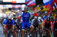 Liege, Belgium - July 2 :  KITTEL Marcel of Quick-Step Floors during stage 2 of the 104th edition of the 2017 Tour de France cycling race, a  stage of 203 kms between Dusseldorf and Liege on July 2, 2017 in Liege, Belgium, 2/07/2017 <br /> Ciclismo Tour De France 2017 <br /> Foto Photonews / Panoramic / Insidefoto <br /> ITALY ONLY