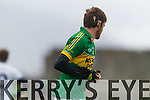 Donal Maher Kerry in action against  IT Tralee in the McGrath cup at Austin Stack Park on Sunday.