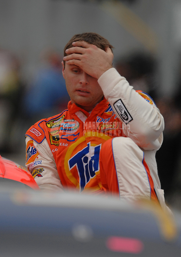 Nov. 19, 2006; Homestead, FL, USA; Nascar Nextel Cup driver Travis Kvapil (32) during the Ford 400 at Homestead Miami Speedway. Mandatory Credit: Mark J. Rebilas