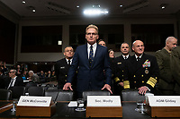 Acting Secretary of the Navy Thomas Modly arrives to testify before the United States Senate Committee on Armed Services at the U.S. Capitol in Washington D.C., U.S., on Tuesday, December 3, 2019.  The panel discussed reports of substandard housing conditions for U.S. service members. <br /> <br /> Credit: Stefani Reynolds / CNP /MediaPunch