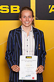 Girls Underwater Hockey winner Georgia Farmer from Diocesan School for Girls. ASB College Sport Young Sportsperson of the Year Awards held at Eden Park, Auckland, on November 24th 2011.