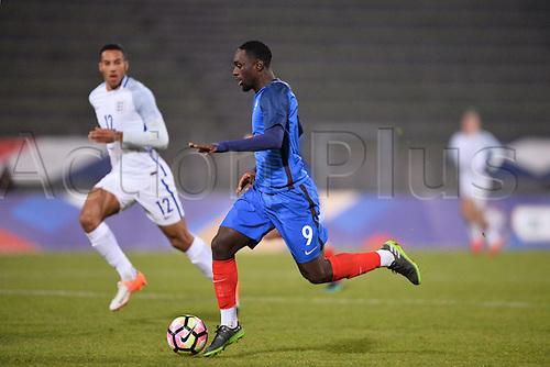 14.11.2016. bondoufle, Paris, France. U-21 International friendly football match, France versus England.  Jean Kevin Augustin (fra)