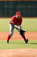 Cody Puckett - Cincinnati Reds 2009 Instructional League. .Photo by:  Bill Mitchell/Four Seam Images..