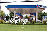 Gas station,Siem Reap <br /> , Cambodia<br /> <br /> PHOTO :  Agence Quebec Presse<br /> <br /> <br /> <br /> <br /> <br /> PHOTO : Agence Quebec Presse