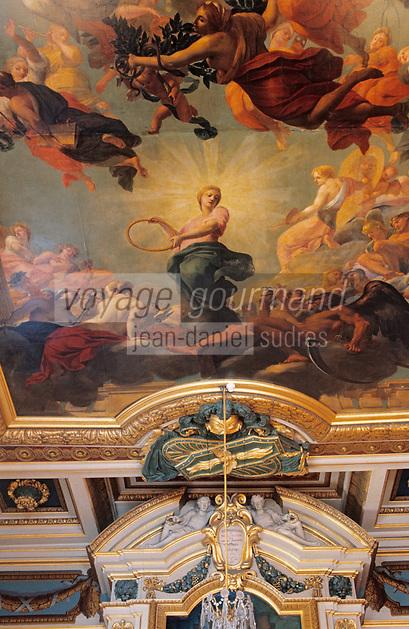 Europe/France/Rhône-Alpes/69/Rhône/Lyon: Hôtel de ville - Plafond peint par Thomas Blanchet