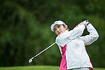 Soon Woo Bae of South Korea tees off during Round 1 of the World Ladies Championship 2016 on 10 March 2016 at Mission Hills Olazabal Golf Course in Dongguan, China. Photo by Victor Fraile / Power Sport Images