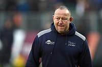 Sale Sharks Director of Rugby Steve Diamond looks on. Gallagher Premiership match, between Bath Rugby and Sale Sharks on December 2, 2018 at the Recreation Ground in Bath, England. Photo by: Patrick Khachfe / Onside Images