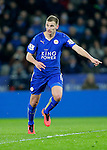 Marc Albrighton of Leicester City during the Barclays Premier League match at The King Power Stadium.  Photo credit should read: Malcolm Couzens/Sportimage