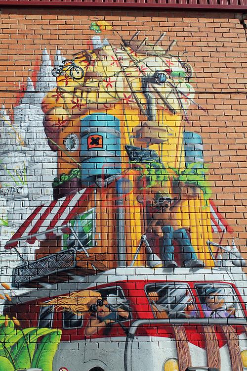Street Art-Graffittis.<br /> Sabadell Sud.