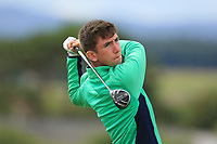 Tom McKibbin of Ireland during day 1 of the Boys' Home Internationals played at Royal Dornoch, Dornoch, Sutherland, Scotland. 07/08/2018<br /> Picture: Golffile | Phil Inglis<br /> <br /> All photo usage must carry mandatory copyright credit (&copy; Golffile | Phil Inglis)