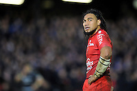 Ma'a Nonu of Toulon looks on. European Rugby Champions Cup match, between Bath Rugby and RC Toulon on January 23, 2016 at the Recreation Ground in Bath, England. Photo by: Patrick Khachfe / Onside Images