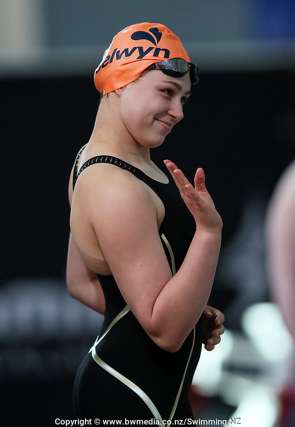 Ella Benn, 200m Freestyle Para. New Zealand Short Course Swimming Championships, National Aquatic Centre, Auckland, New Zealand, Tuesday 1st October 2019. Photo: Simon Watts/www.bwmedia.co.nz/SwimmingNZ