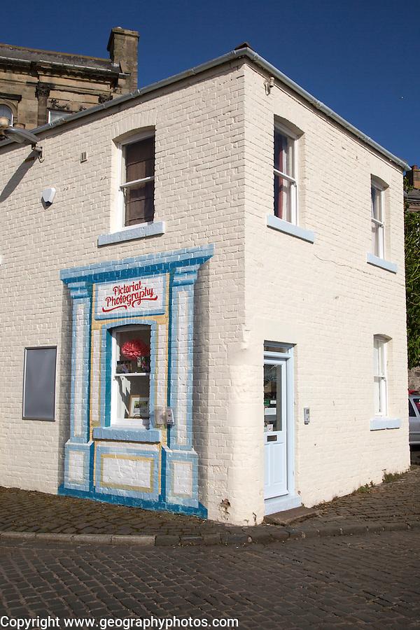 Photography business, Berwick on Tweed, Northumberland, England, UK