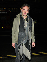 Tom Bateman at the &quot;True West&quot; theatre press night, Vaudeville Theatre, The Strand, London, England, UK, on Tuesday 04 December 2018.<br /> CAP/CAN<br /> &copy;CAN/Capital Pictures