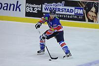 IJSHOCKEY: HEERENVEEN: THIALF: 05-10-2012, Friesland Flyers - Tilburg Trappers, Jeroen van Olphen (# 83) ©foto Martin de Jong