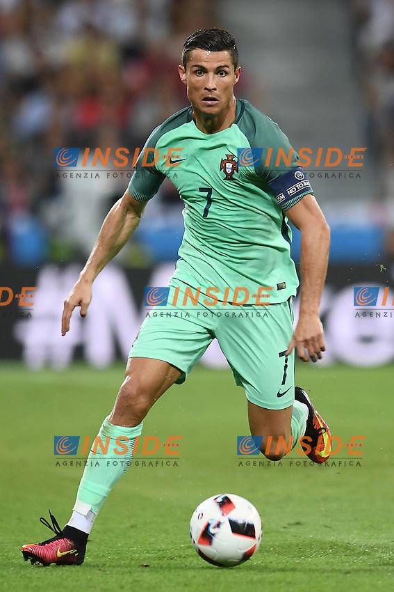 Cristiano Ronaldo <br /> Lyon 06-07-2016 Stade de Lyon Football Euro2016 Portugal - Wales / Portogallo - Galles Semi-finals / Semifinali <br /> Foto Matteo Gribaudi  / Image / Insidefoto