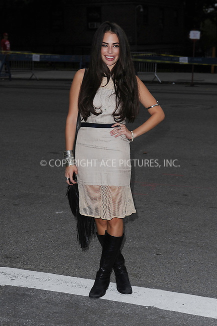 WWW.ACEPIXS.COM<br /> September 7, 2013 New York City<br /> <br /> Chloe Bridges seen at Mercedes Benz Fashion Week at Lincoln Center in New York City on September 7, 2013.<br /> <br /> By Line: Kristin Callahan/ACE Pictures<br /> ACE Pictures, Inc.<br /> tel: 646 769 0430<br /> Email: info@acepixs.com<br /> www.acepixs.com<br /> Copyright:<br /> Kristin Callahan/ACE Pictures