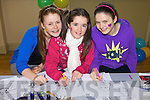 Taking part in the painting competition at the Children's clothes and toys market at Scoil Realta Na Maidine, Listowel on Sunday were Aisling Grimes, Laureen Kelliher and Niamh Horan.