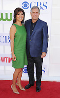 BEVERLY HILLS, CA - JULY 29: Julie Chen and Les Moonves arrive at the CBS, Showtime and The CW 2012 TCA summer tour party at 9900 Wilshire Blvd on July 29, 2012 in Beverly Hills, California. /NortePhoto.com<br />