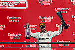 Mercedes AMG Petronas Motorsport driver Valtteri Bottas (77) of Finland in action during the Formula 1 Emirates United States Grand Prix race held at the Circuit of the Americas racetrack in Austin,Texas.