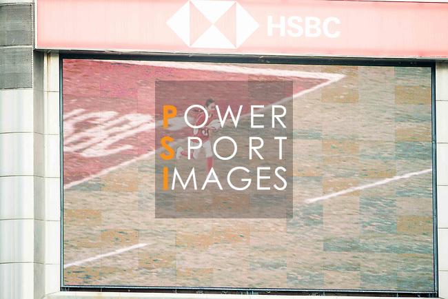 HSBC Ball Carriers during the HSBC Hong Kong Rugby Sevens 2018 on 08 April 2018, in Hong Kong, Hong Kong. Photo by Chung Yan Man / Power Sport Images