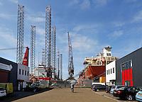 Amsterdam- Noord.  Haven en bedrijventerrein