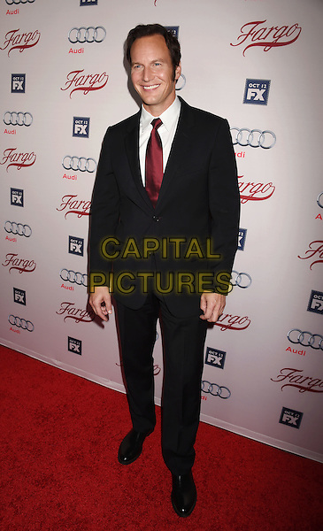 HOLLYWOOD, CA - OCTOBER 07: Actor Patrick Wilson attends the premiere of FX's 'Fargo' Season 2 held at ArcLight Cinemas on October 7, 2015 in Hollywood, California.<br /> CAP/ROT/TM<br /> &copy;TM/ROT/Capital Pictures