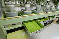 A macha factory, Uji city, Kyoto prefecture, Japan, August 1, 2006.