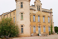 Chateau de Montpezat. Pezenas region. Languedoc. The main building. France. Europe.
