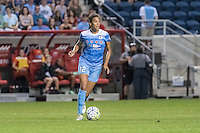 Bridgeview, IL - Saturday July 23, 2016:  Chicago Red Stars forward Cara Walls (12) during a regular season National Women's Soccer League (NWSL) match between the Chicago Red Stars and the Houston Dash at Toyota Park.