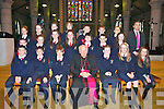 Students from Blennerville NS who were confirmed by Bishop Bill Murphy at Saint Johns Church, Tralee on Friday.Front Row L-R.Joe O' Connor, Gearoid Dillane, Adam Boyle, Emma Smith, Yvette Daly, Shannon Quill.Middle Row L-R.Zack O' Connor, Ava Kelliher, Meadhbh Dowling, Rebecca Devane, Zack Brosnan, Ronan Murray, Sophie Knightly.Back Row L-R.Ciara Knightly, Niamh Furlong, Zoe Quinlivan, Kate Moore, Sean Trant, Brian Murphy, Matthew Hanafin Connolly.