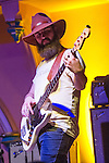 Shane Cody of Houndmouth performs at the The Southgate House Revival-Sanctuary in Newport, Kentucky.