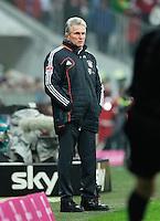 FUSSBALL   1. BUNDESLIGA  SAISON 2012/2013   18. Spieltag FC Bayern Muenchen - SpVgg Greuther Fuerth       01.12.2012 Trainer Jupp Heynckes (FC Bayern Muenchen)