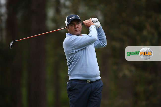 Ricardo Gonzalez (ARG) during Round Two of the 2015 BMW PGA Championship over the West Course at Wentworth, Virginia Water, London. 22/05/2015Picture David Lloyd, www.golffile.ie.